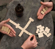 Travel DOMINOES with Muslin Bag