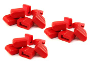 Caps for Deans-style Male Connector - Package of
