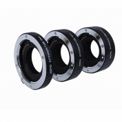 Movo Photo AF Macro Extension Tube Set for Nikon 1 AW1, J1, J2, J3, S1, V1, V2 Mirrorless Cameras with 10mm, 16mm & 21mm Tubes