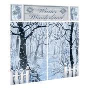 Scene Setter Winter Wonderland Wall Decorating Kit