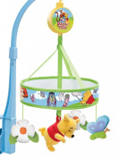 Winnie The Pooh - Chasing Butterflies Cot Mobile