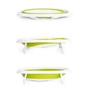 Naked - Green Two Position Collapsible Baby Bathtub