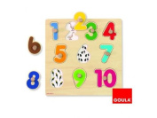 Numbers Wooden Puzzle