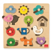 Countryside Silhouette Wooden Puzzle
