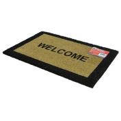 """Rectangular Coir Welcome Door Matt 16""""/40cm x24""""/60cm"""