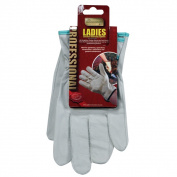 Pro Gold Ladies Leather Gardening Gloves