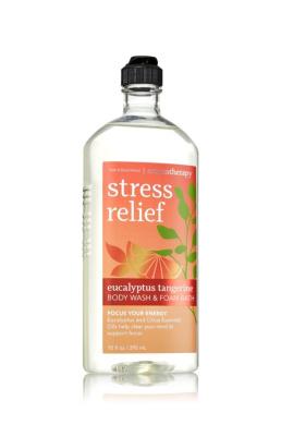Bath & Body Works Aromatherapy Stress Relief Eucalyptus Tangerine Body Wash 300ml