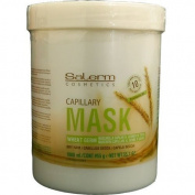 Salerm Wheat Germ Conditioning Treatment (Mascarilla Capilar) 1000ml (1 Litre) by Salerm Professional Cosmetics of Florida, Inc. BEAUTY