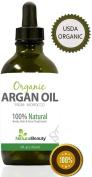 Argan Oil - For Hair Face Skin & Nails 100% Pure Argan Oil, Big bottle Argan Oil By Natural Beauty Brand