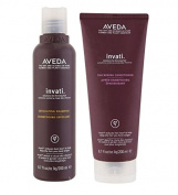 Aveda Invati Exfoliating Shampoo 200ml & Thickening Conditioner 200ml SET