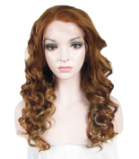 Sally Beauty Supply Wigs Blonde Mixed Colour Synthetic Wave Lace Front Wig