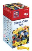BRICTEK Blue Colour Pack Building Blocks 152pcs. with 2 Block Removers & 1 Figurine