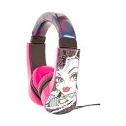 Monster High Kid Safe Over the Ear Headphone w/ Volume Limiter