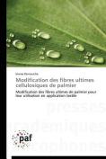 Modification Des Fibres Ultimes Cellulosiques de Palmier  [FRE]