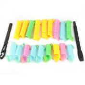 Estone 18PCS New DIY Magic Leverag Circle Hair Styling Roller Curler Tool