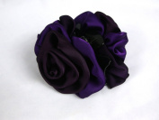 Large Size Claw Clips : Rose handmade claw clips