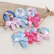 Disney Frozen Kid Children Button Hair Clips