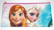 Disney Frozen Anna/Elsa Pencil/Pen Pouch or Cosmetic Bag - Pink