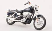 Harley Davidson FXDBI Dyna street Bob, dark blue , 2006, Model Car, Ready-made, Maisto 1:18