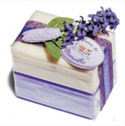 Savon de Marseille Bath Soap Bars Gift Set - Lavender & Jasmine
