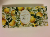 Saponificio Artigianale Fiorentino Lemon and Basil 3 X 130ml Soap Set From Italy