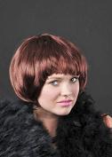 Ladies 1920s Flapper Girl Brown Babe Wig