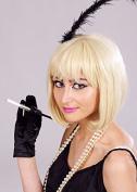 Deluxe Ladies Blonde Flapper Bobbed Wig