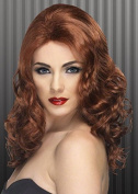 Ladies 20s Auburn Glamorous Wig