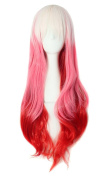 MapofBeauty 60cm Wavy Multi-Colour Lolita Cosplay Wig Party Wig