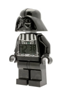 LEGO Kids' 9002113 Star Wars Darth Vader Mini-Figure Alarm Clock Colour