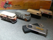 Allll Scale Bulli Restoration VW T1 4 Vehicle Collection -- With Photo Collection on USB Flash Memory Stick