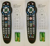 NEW! 2-PACK Verizon Frontier Model P265v1.1 Remote Controls for FIOS Set-Top Box & Many TV's