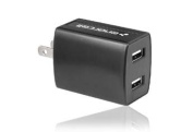 Enercell® 2-Port 1A AC-USB Adapter