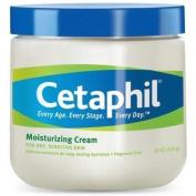 Cetaphil Moisturising Cream for Dry, Sensitive Skin, Fragrance Free, Non-comedogenic, 590ml Each