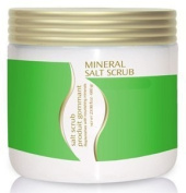 Crystalline Green Tea Mineral Dead Sea Salt Scrub 710ml From Israel