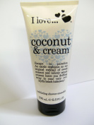I love Exfoliating Shower Smoothie, Coconut & Cream 6.8 fl oz