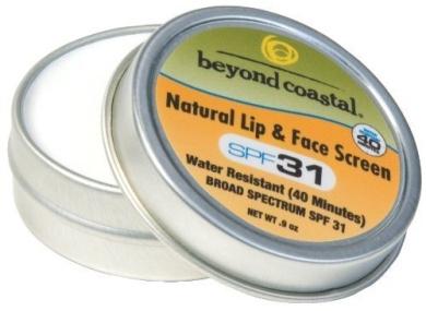 Beyond Coastal Natural Lip and Face Screen (25ml)