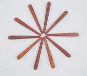 Wholesale 10 pcs.Reflexology Thai Foot Massage Wooden Stick Tool 5' Length Product of Thailand