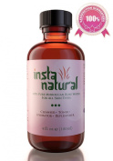 Moroccan Rose Water 100% Pure & Natural For Face, Skin & Hair   Facial Toner, Cleanser, Hydrator, Moisturiser, Makeup Remover by ? InstaNatural - Best Skin Care - 120ml - 100 Days 100.