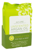 Argan Oil Cleansing Towelettes Acure Organics 30 ct Towelette