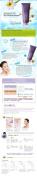 Naruko Narcissus DNA Repair Foaming Wash, 120ml