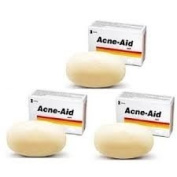 3 X 100g. Stiefel Acne Aid Soap Bar Deep Pore Cleansing Pimple Oily Skin Face Aid