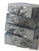 Detoxifying Activated Charcoal and Bentonite Clay Soap, (For Oily And Acne Skin) Cold Process