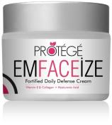 EMFACEiZE Anti-Ageing Daily Moisturiser Face Cream - Best Anti-Wrinkle Facial Cream Contains Vitamin E, Hyaluronic Acid, Lycopene, Avocado Oil, Jojoba Oil, Almond Oil, and Pomegranate Seed Oil. High Antioxidant Moisturising Cream + UNCONDITIONAL GUARANTEE