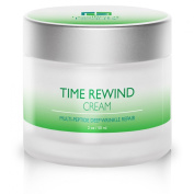 Best Anti Ageing Night Cream for Skin Repair While You Sleep - Time Rewind Night Cream Stimulates Collagen Growth to Reduce Wrinkles, Fine Lines & Acne - Safer than Botox - 60ml Double Size Value - Good for both Women & Men - 100.