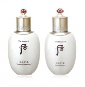 SPECIAL EVENT(8~15 days FREE INTERNATIONAL SHIPPING)!!!!!! The History of Whoo Gongjinhyang Seol Whitening Skin Balancer (All skin /130ml) + Whitening Lotion