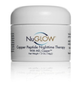 Wake Up Looking Refreshed & Radiant with NuGlow® Copper Peptide Nighttime Therapy with MD3 Copper Peptide. Reduce The Appearance Of Fine Lines and Wrinkles By Providing Your Skin The Essential Component for Collagen and Elastin Production. Firm & Tone ..