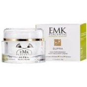 EMK Placental High Performance SUPRA Night Recovery Face Cream - Revolutionary Bio-Identical Plant Placenta Mimics Human Placenta - Highest Grade Soluble Collagen, Shea Butter, Peptides, Aloe