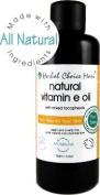 Herbal Choice Mari Natural Vitamin E Oil 80% Organic (5160iu Mix Tocphls) 100ml/ 3.4oz