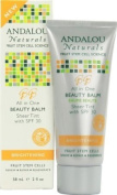 Andalou Naturals Brightening SPF 30 All In One Beauty Balm, Sheer Tint, 60ml
